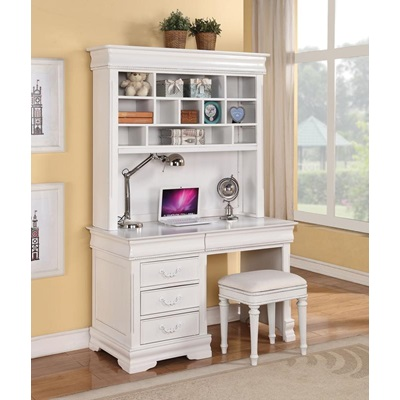 30134 WH COMPUTER HUTCH W/BACK PANEL