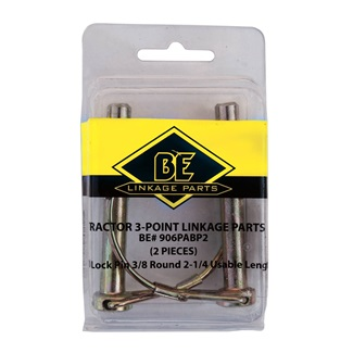 Locking Pins 2 Piece Blister Pack