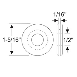 Multi-Purpose Grommet 1-5/16""