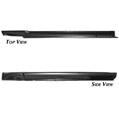 1965-66 Mustang Rocker Panel (Complete LH, Fastback/Coupe)