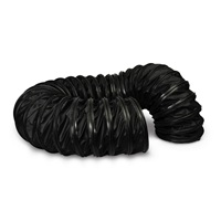 "Veloci 12"" Black EnviroDuct - 20 ft"