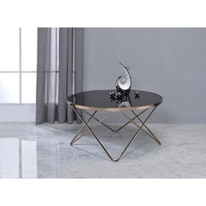81830 BLACK COFFEE TABLE