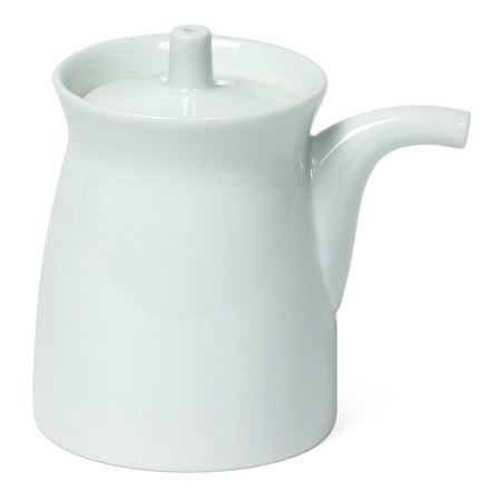 Mori 5 Oz. G-Type Sauce Pot- White