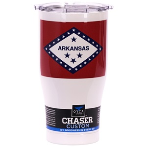 Arkansas State Flag Chaser 27oz