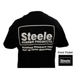 Steele Logo 1 Color T-Shirt