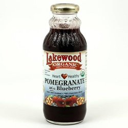 Pomegranate/Blueberry Juice, Organic  - 12.5oz (Case of 12)