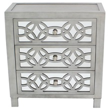 "28""H Glam Slam 3 Drawer Chest"