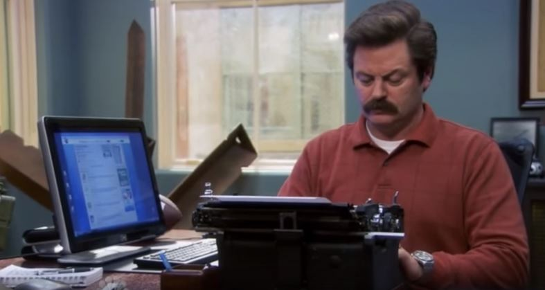 """I am composing strongly-worded letters about things I disapprove of, and I am using the internet to get addresses where I can send them."" - Ron Swanson"
