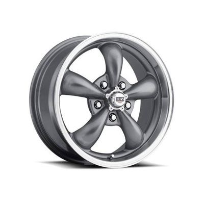 1964-73 Mustang Classic Wheel (Anthracite, 17 x 7 with 4? Backspace)