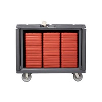 Cook's Rhino Tray Delivery Cart Orange