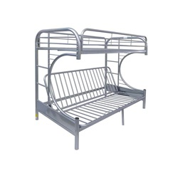 02093SI TWIN/QUEEN BUNK BED