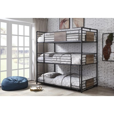 37820 BRANTLEY, 3 LAYERS BUNK BED