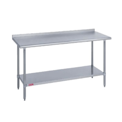 Duke Manufacturing 418-2430-2R Work Table Stainless Steel Top