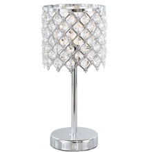 "13.25""H Crystal Glam Accent Lamp"