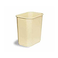 Continental 13-5/8 qt Rectangular Wastebasket