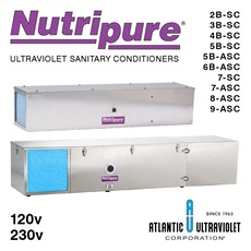 Nutripure® UV Storage Tank Sanitary Conditioners