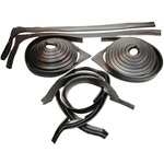 Rear Door Weatherstrip Set