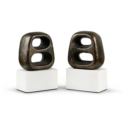 Delphi Bronze Bookends