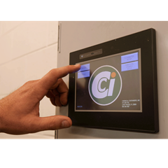 Touch screen control panel for CCI fertigation system
