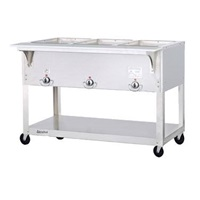 Duke EP303SW Electric Steam Table with Three Sealed Wells