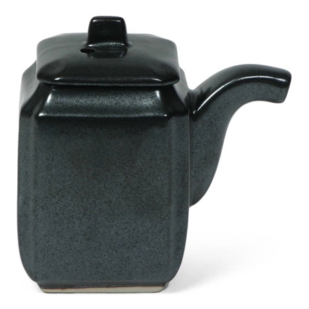 Iron Glaze 6 Oz. Square Sauce Pot