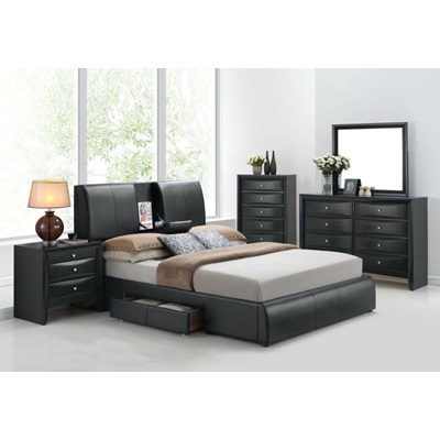 21266EK KIT KOFI EASTERN KING BED