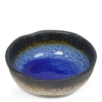 "COBALT BLUE 5"" SHALLOW BOWL"