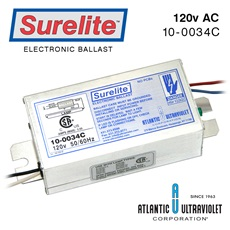 Ballast: Surelite™ Slimline 120 50/60Hz/430mA. with LED RoHS
