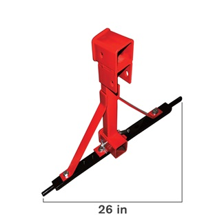 Upper & Lower Connection, 3pt Tow Hook, Heavy Duty