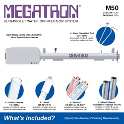 Megatron Automatic M50 - Included Accessories