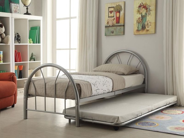 Acme Furniture 30463si Twin Metal Trundle