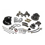 Disc Brake Conversion Kit with Master Cylinder (8 cylinder, non-power)