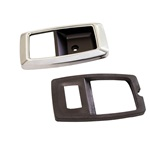 79-93  Door Bezels (Chrome, Pair)