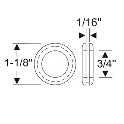 Multi Purpose Grommet 1-1/8""