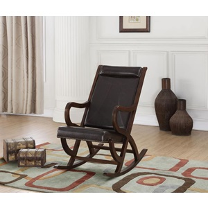 59535 ESPRESSO ROCKING CHAIR