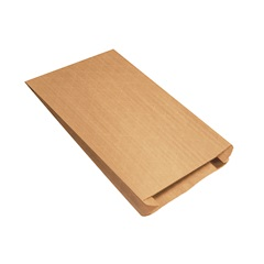 "12.5 X 4 X 20"" GUSSETED NYLON REINFORCED MAILERS 250/CS   B896"