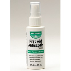 FIRST AID ANTISEPTIC SPRAY BOTTLE 2 OZ.