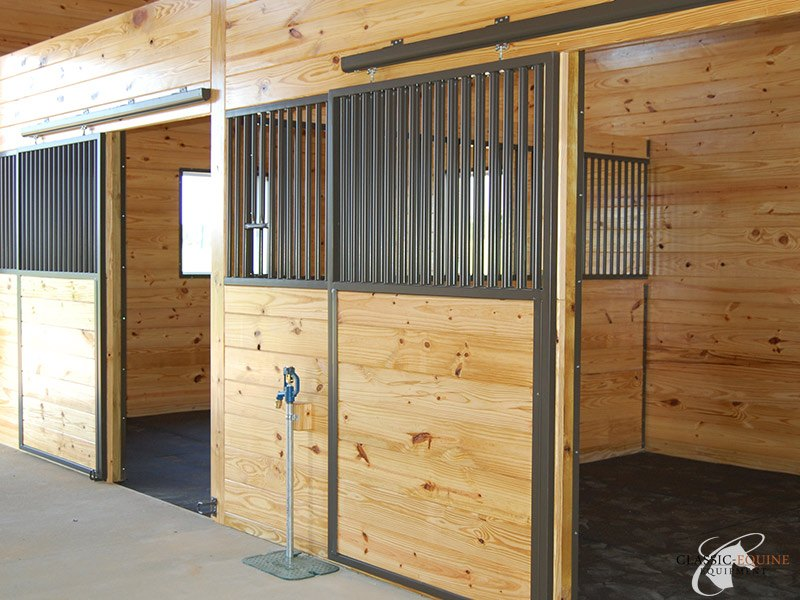 Sliding Horse Stall Doors Best Quality Horse Stalls Made