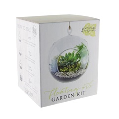 DIY Glass Floating Orb Terrarium Kit