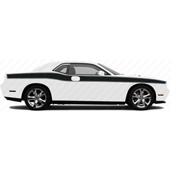 2008-2016 Challenger Full Body With Pinstripe