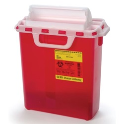 3 Gallon Red Container - Locking Horizontal Lid