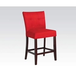 16830 RED MFB COUNTER HEIGHT CHAIR
