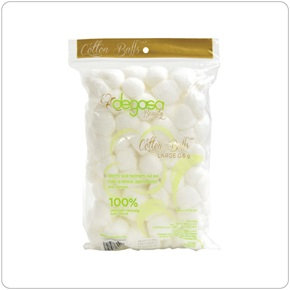 Degasa Beauty Cotton Balls, Large Size