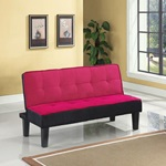 57038 PINK ADJUSTABLE SOFA