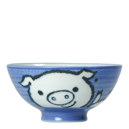 "Piggy 4.5"" Rice Bowl"