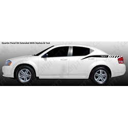 2008-2014 Dodge Avenger Quarter Panel Kits