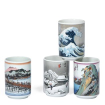 Teacup Set Tokaido Scene 5 Oz.