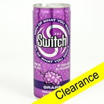 Switch, Grape - 8oz (Case of 24) - Clearance