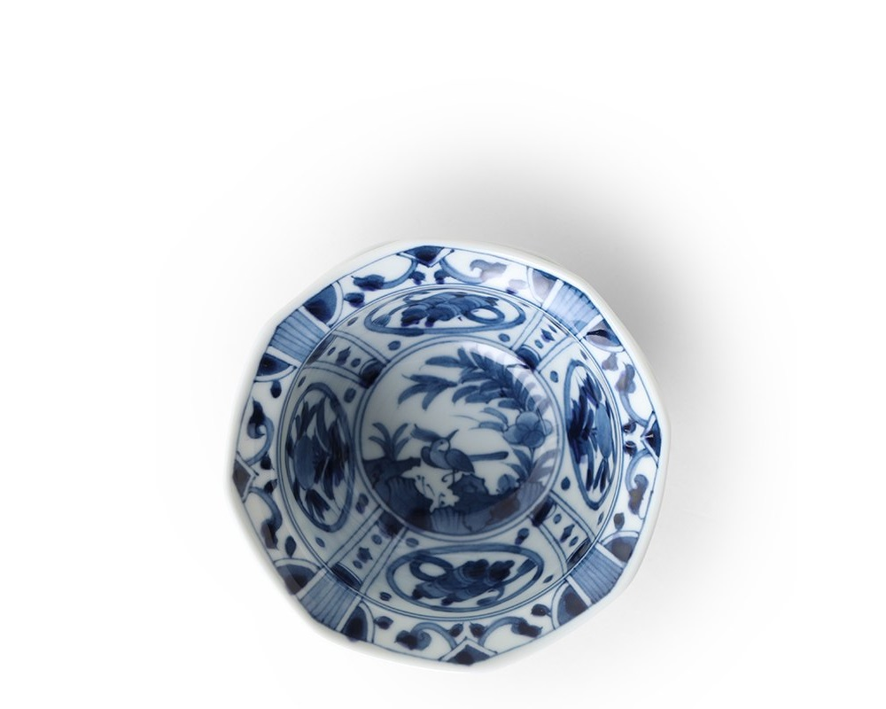 "Blue & White 4.5"" Small Bowl"