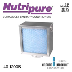 Model 4-TV: Tank Vent for Nutripure® Model 4B-SC and Model 5B-SC